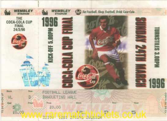 1996 lc final ASTON VILLA 3 LEEDS UTD 0 (unused)